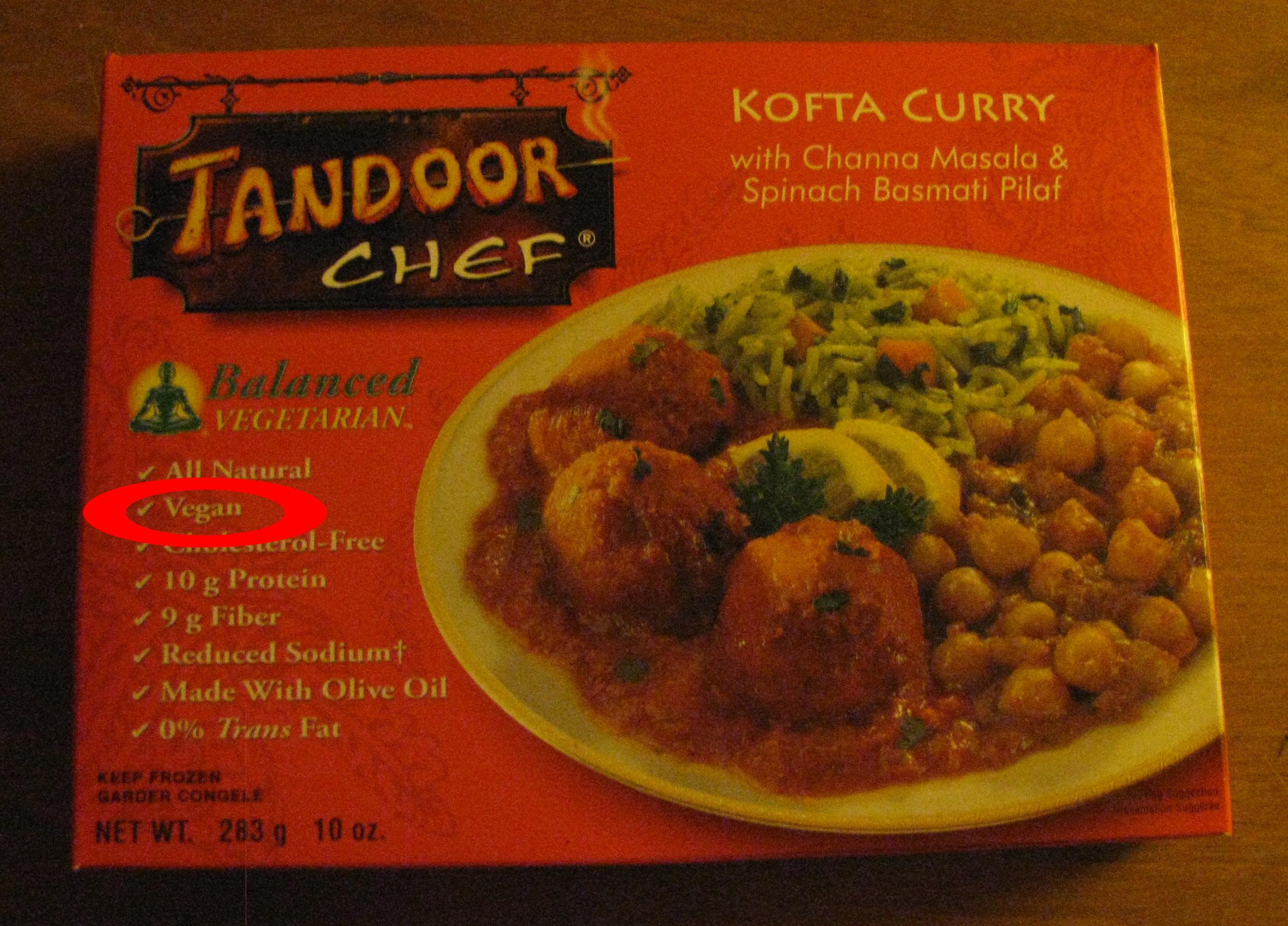 Indian Foods Frozen In Supermarket New York