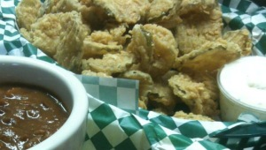 Bean's Fried Pickles (Photo Credit:  Bean Vegan Cuisine)