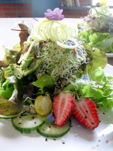 "Luna's Living Kitchen ""Sprout It Out"" salad.  (Photo Credit:  Luna's Living Kitchen.)"
