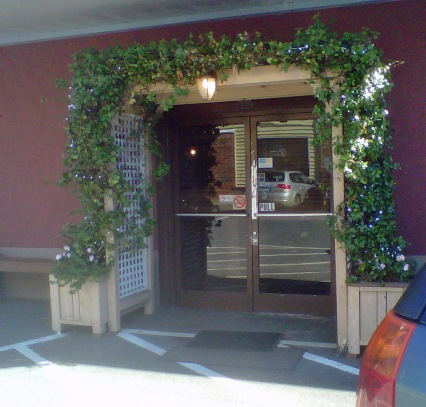 Entrance To Thai Taste.  How inviting is this!!!