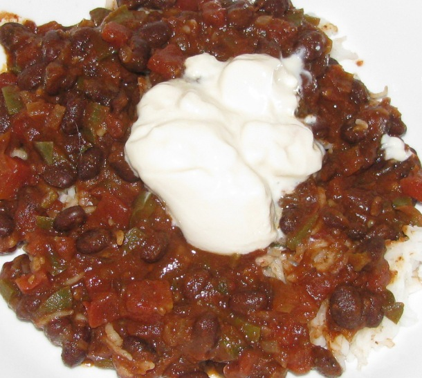 black bean chili 2