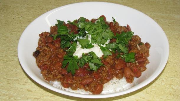 Insanely Easy Vegan Chili