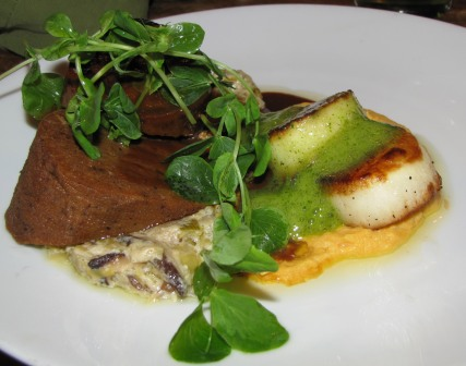 VegCharlotte Fern Surf and Turf