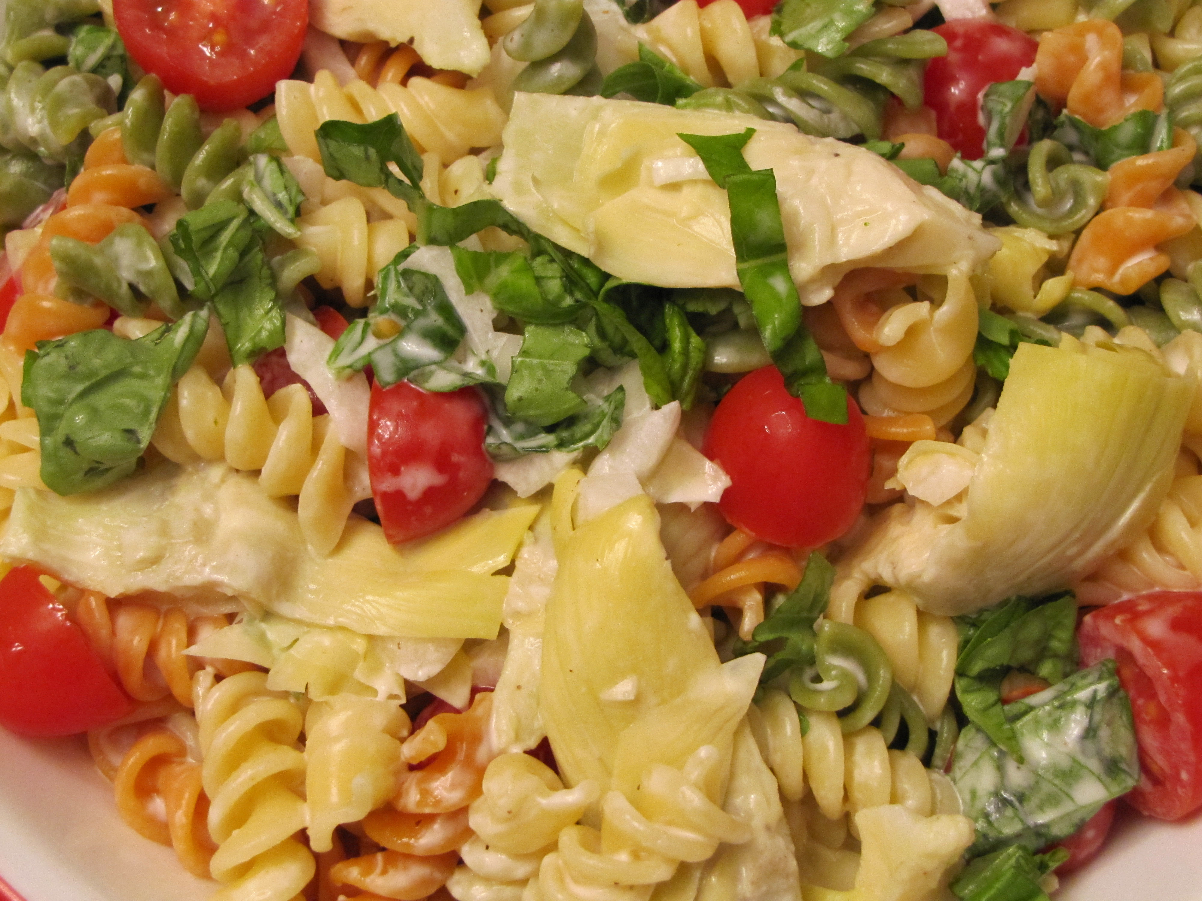 Artichoke Lover S Pasta Salad Vegcharlotte