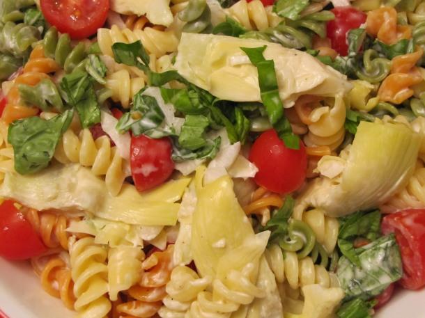 Artichoke Salad Close Up