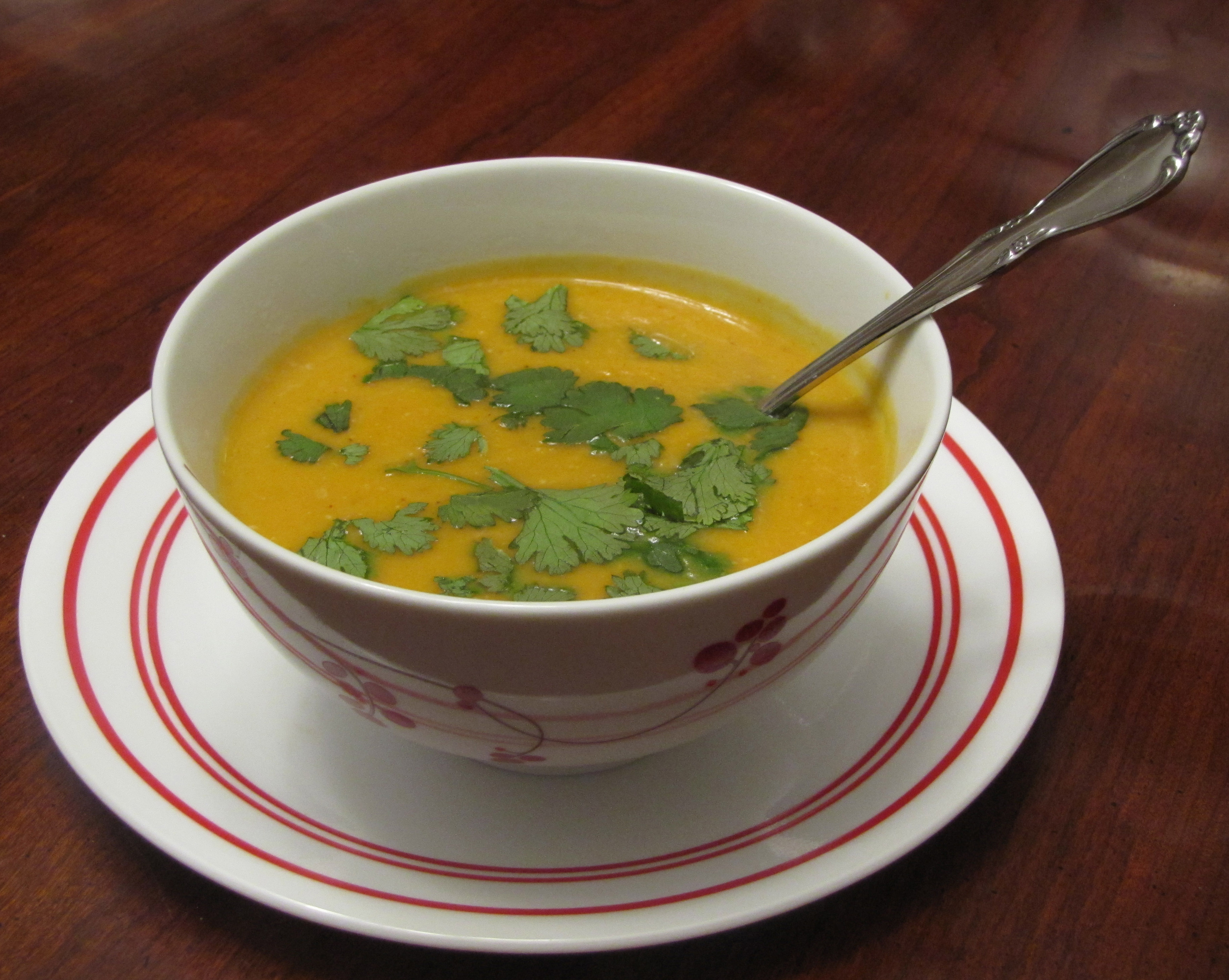 Spicy Sweet Potato Soup – VegCharlotte