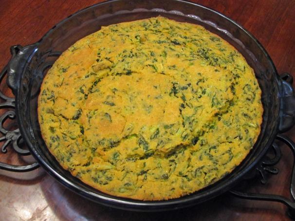 Turnip Green Cornbread