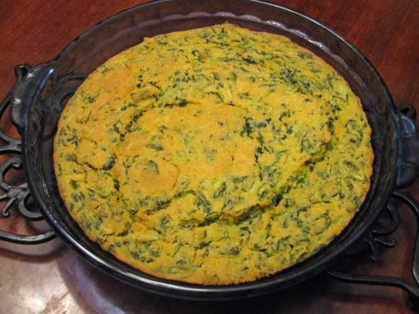 Turnip Green Cornbread
