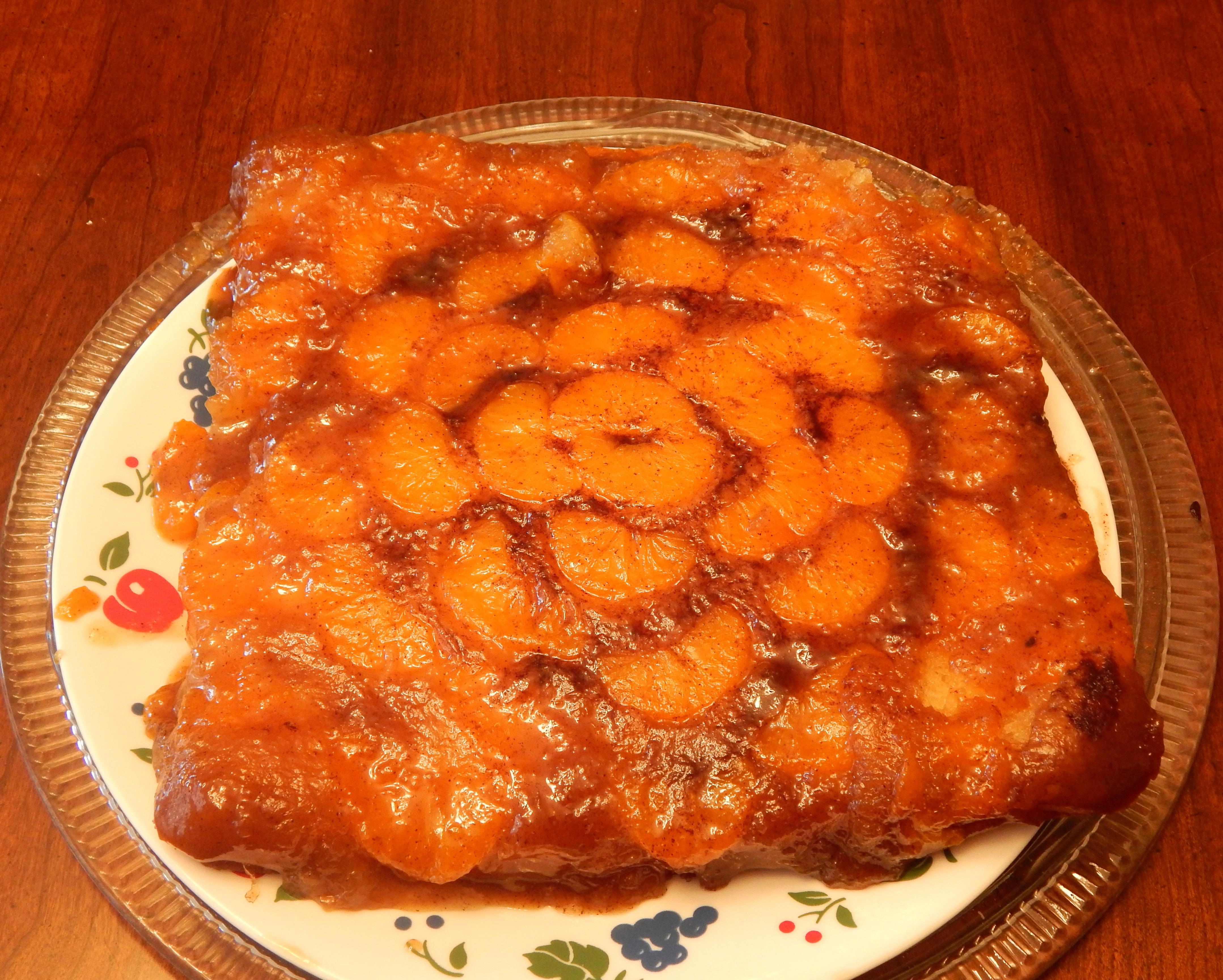 Fresh mandarin cake recipe