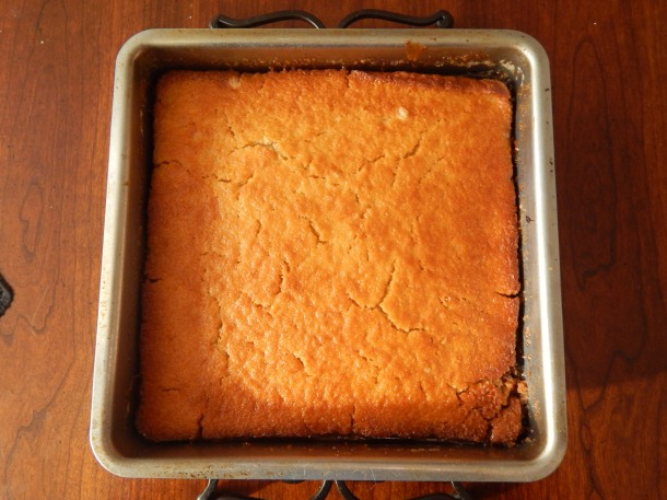 Mandarin Orange Upside Down Cake Cook Until Golden Brown