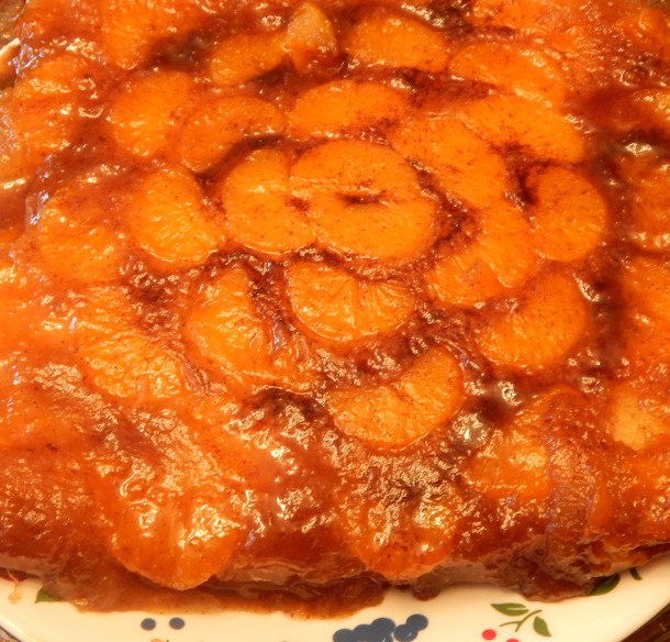 Mandarin Orange Upside Down Cake