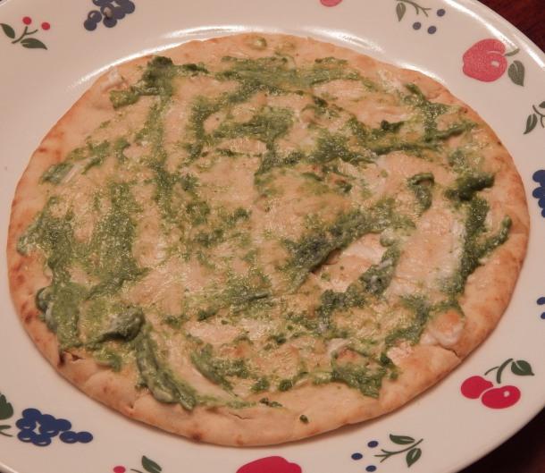 medu vada bread with spread