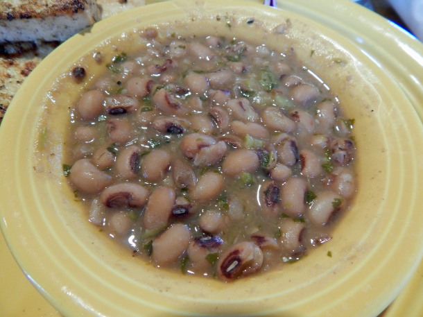 Tupelo Honey Salsa Verde Black Eyed Peas