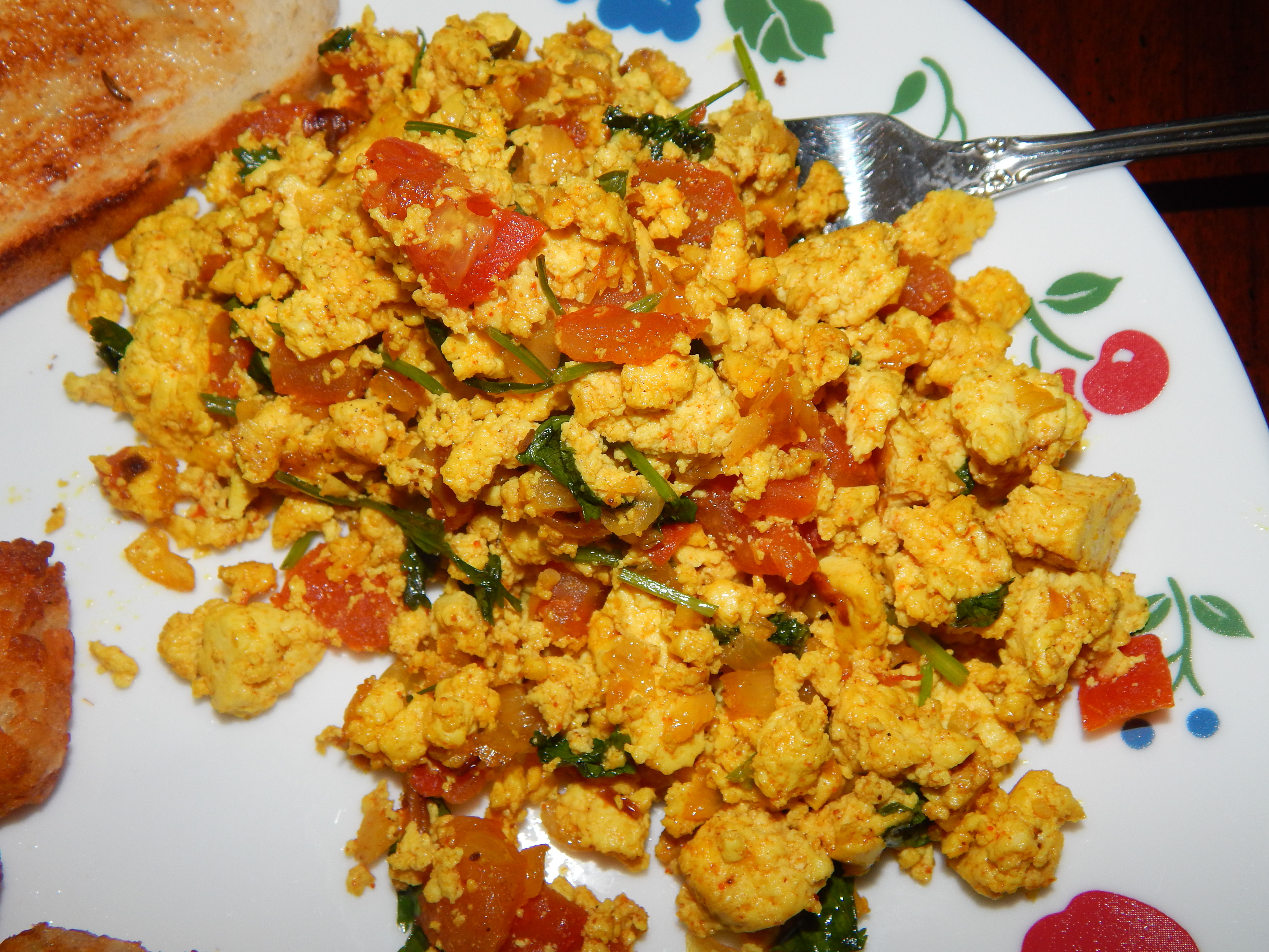 Sunday Breakfast: Indian Tofu Scramble (Tofu Bhurji ...