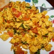 Indian Tofu Scramble (Tofu Bhirji)