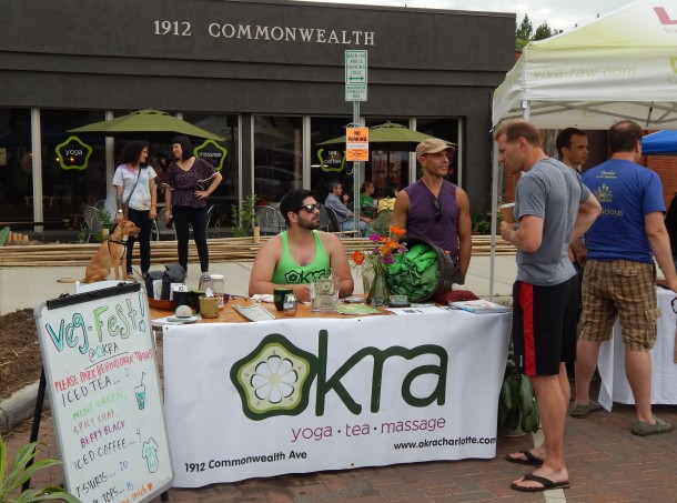 Okra Yoga, Tea, and Massage