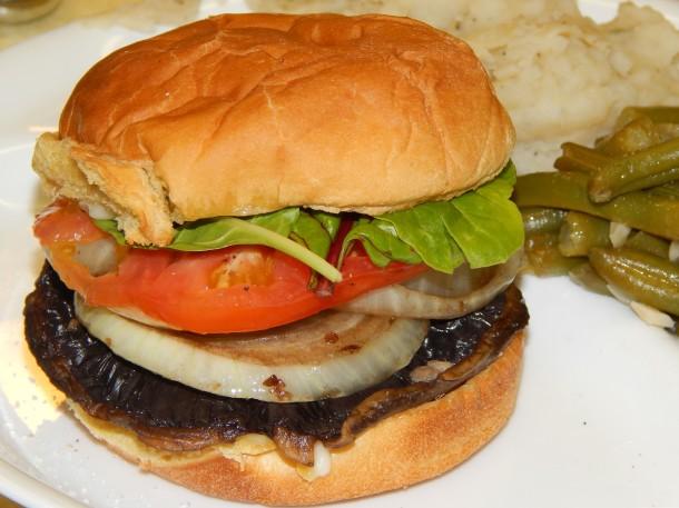 Sauteed Portobello Mushroom Burgers | VegCharlotte