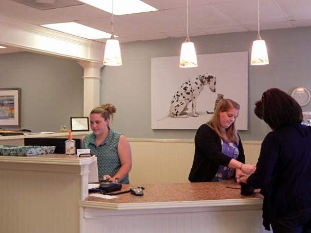 Front Desk Girls at Spay Neuter Charlotte