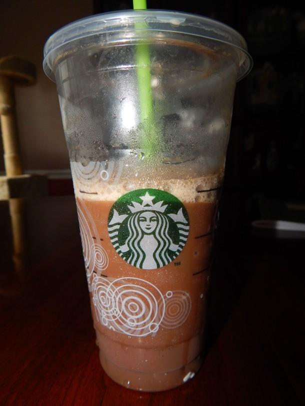 Starbucks Vegan Venti Mocha Frappacino