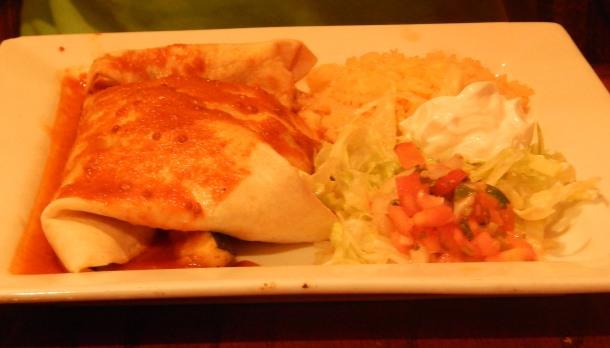 1900 Mexican Grill Veggie Burrito