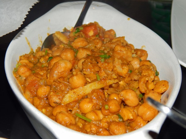Bombay Grille Chana Masala
