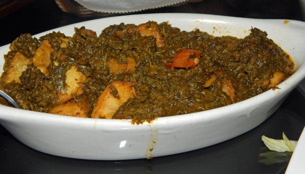 Bombay Grille Aloo Palak