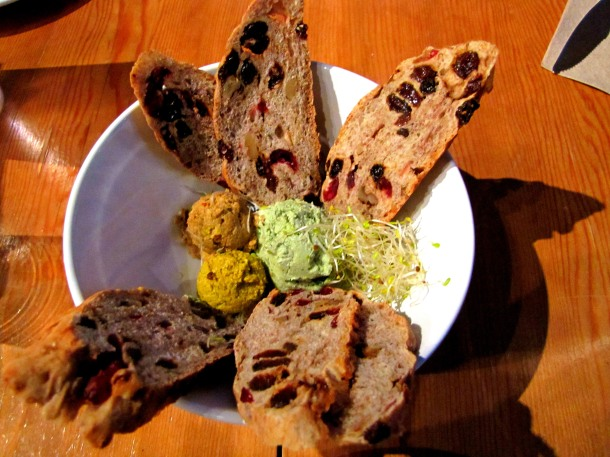 Tri Colored Hummus