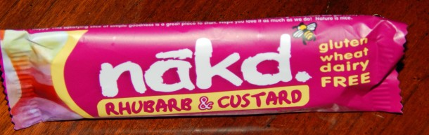 Nakd Rhubarb Custard Bar