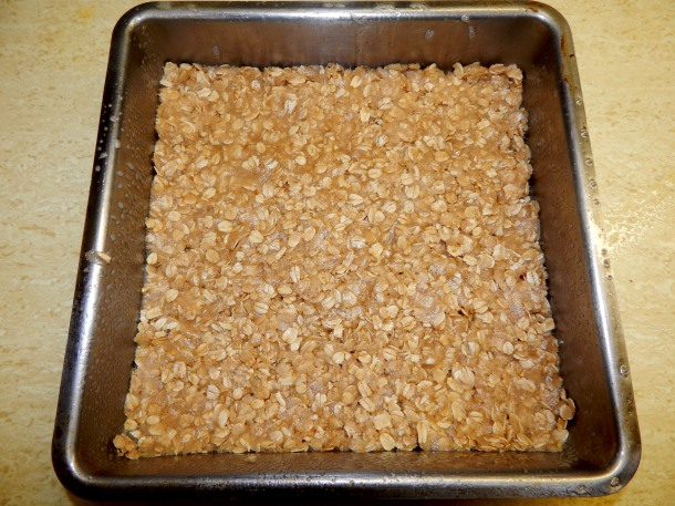 Blackberry Crumble Crust