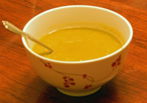 Curried Split Pea Soup