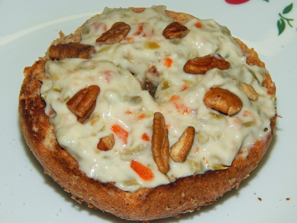 Olive Cream Cheese Spread with Nuts