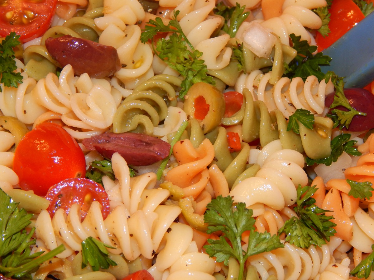 Happy Mofo And A Recipe For Cold Pasta Puttanesca Salad