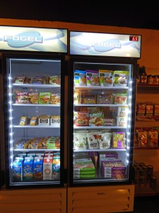 Part of the Refrigerated Section at the Market at Bean