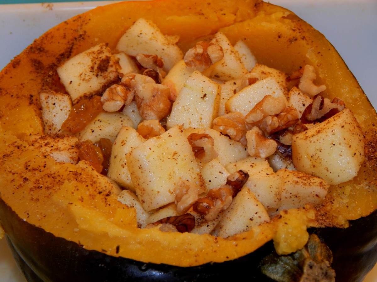 Stuffed Acorn Squash With Indian Spices (Vegan, Gluten ...