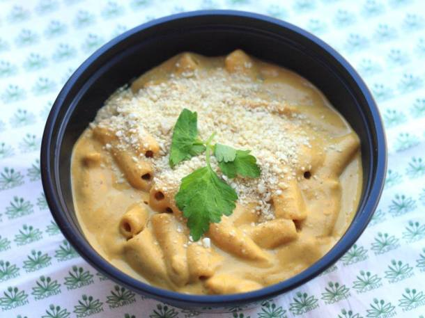 "Butternut Squash Mac N ""Cheeze."" This item practically has its own ..."