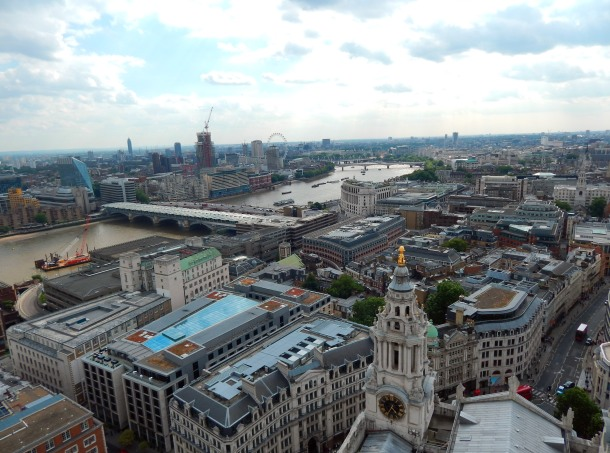View from the top of St. Paul's Cathedral