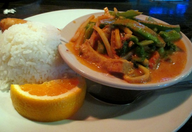 Thai House Red Curry Lunch