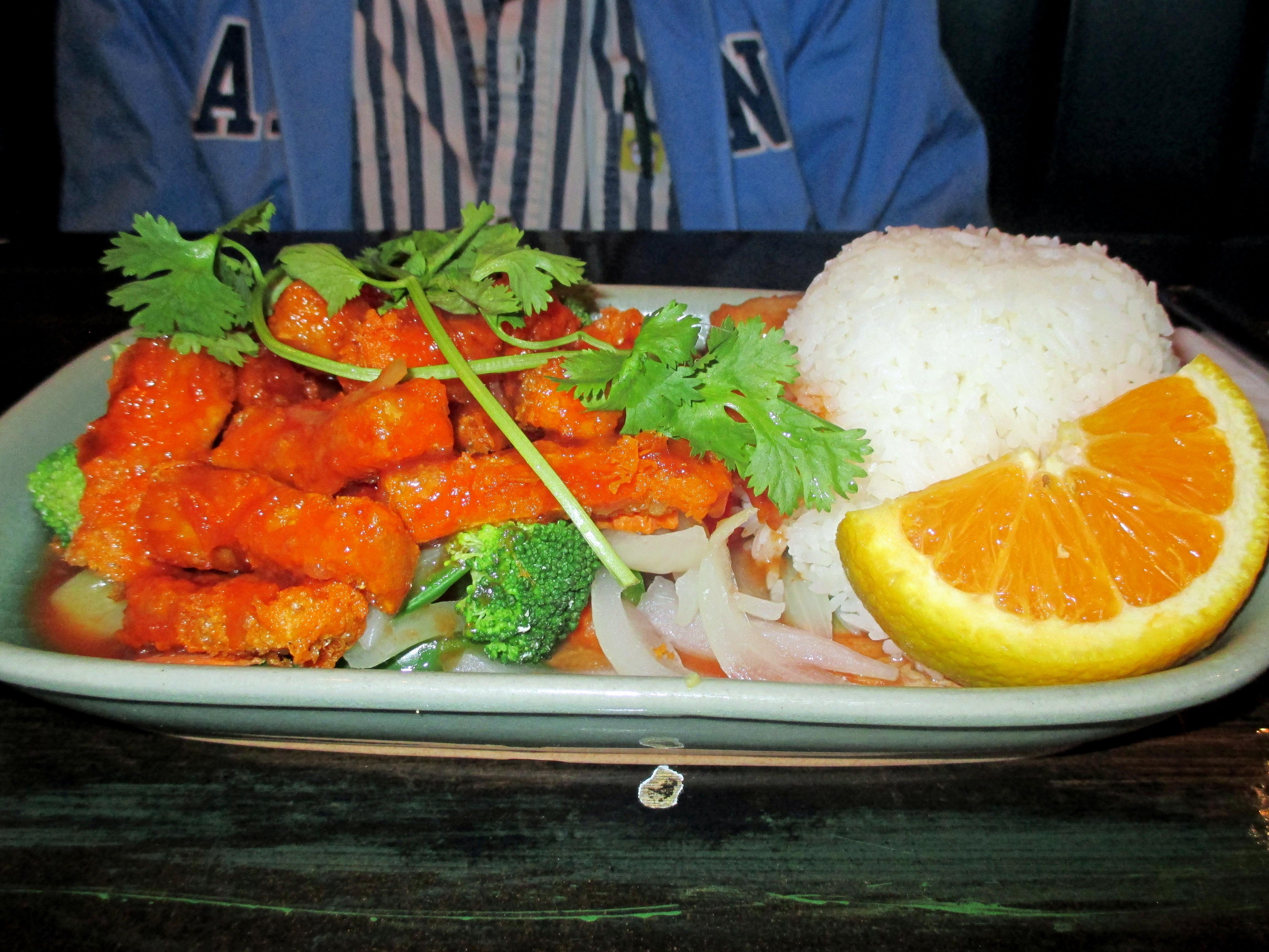 Typical Thai Restaurant Menu