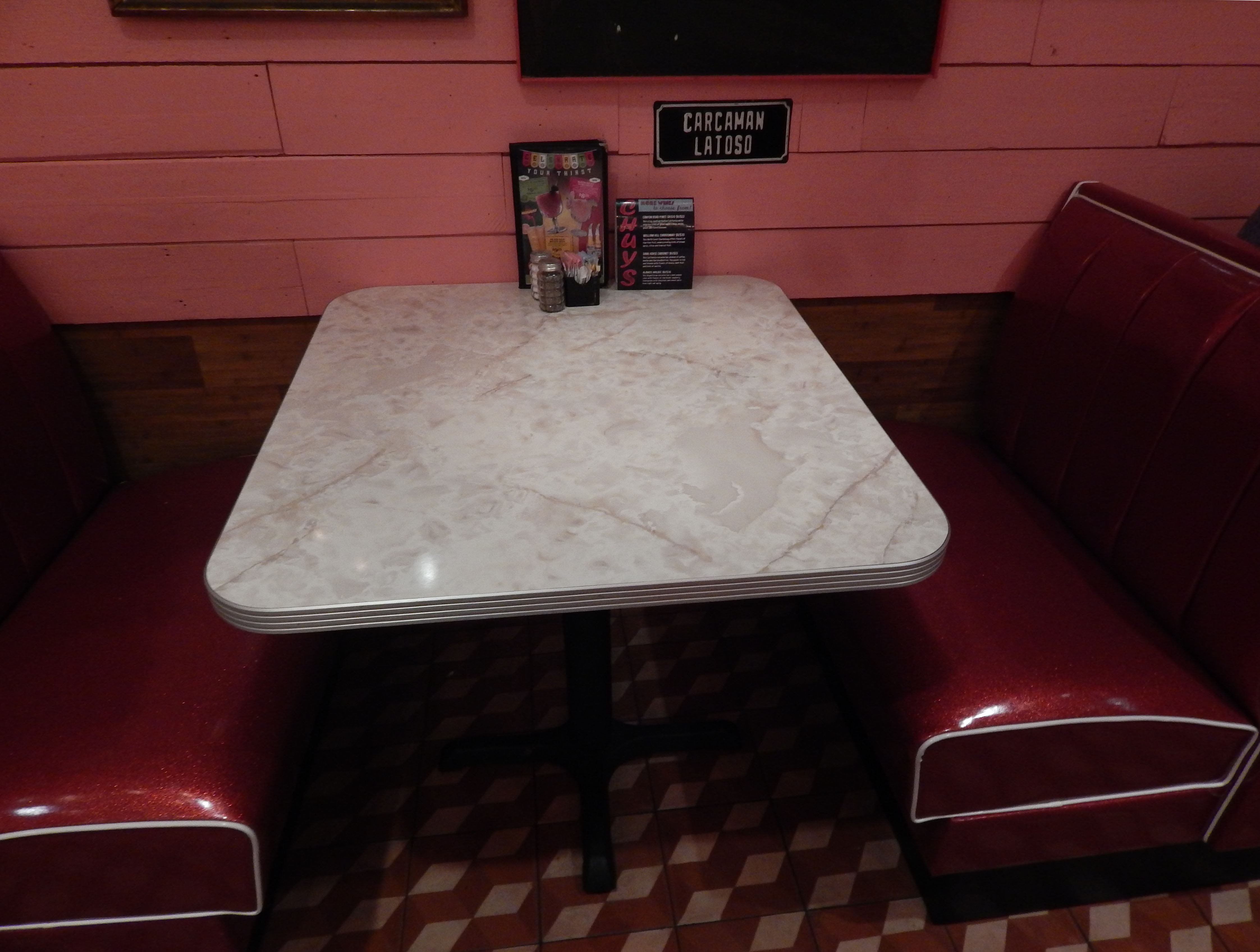 Booth Dining Room Table