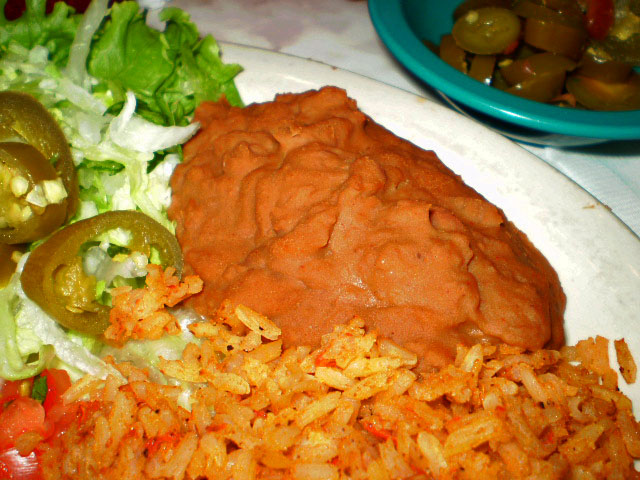 Mexican Food Entrees