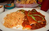 Chuys Veggie Enchiladas