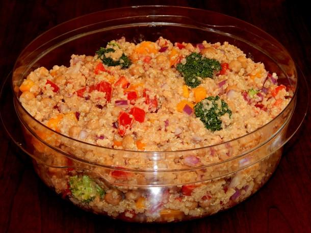 Lemon Tahini Quinoa Salad