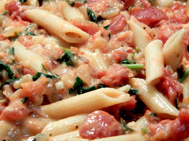 Penne Alla Vodka Close Up