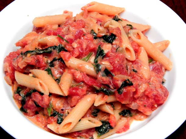 Penne Alla Vodka Vegan