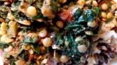 Leafy Lentils close up