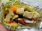 Vegan Chicken Sandwich from Which Wich