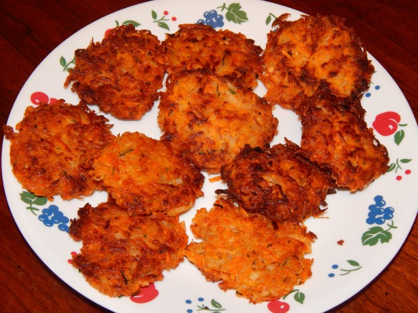 Tal Ronnen's Sweet Potato Latkes