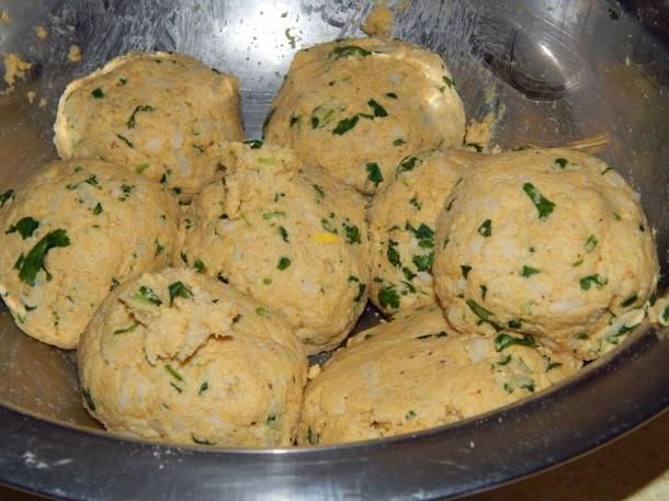 Makki Ki Roti Dough Balls