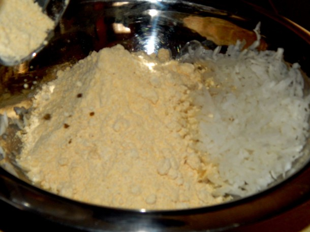 Cornmeal and Radish for Makki Ki Roti