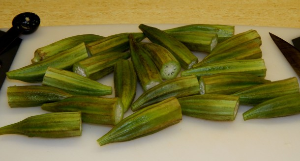 Okra Minus Tips and Tails